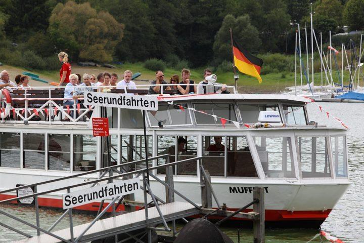 Diemelsee, Schifffahrt